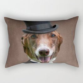 Happy Benny Rectangular Pillow