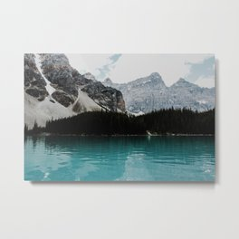 Lake Moraine, Banff National Park Metal Print