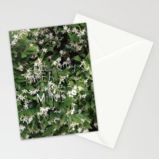 elegance is in the mind Stationery Cards