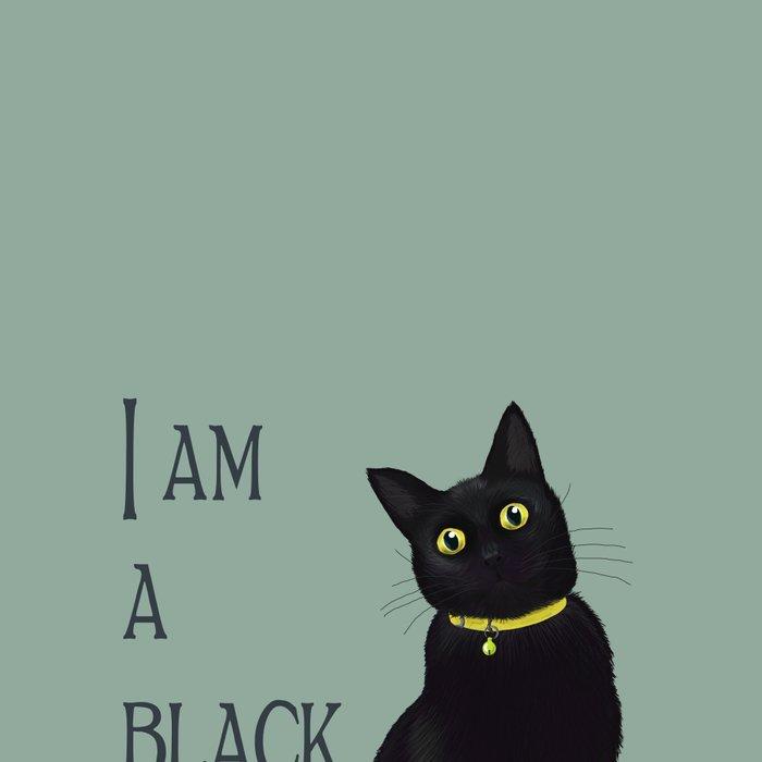 I am a black cat Leggings