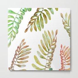 natural leaves Metal Print