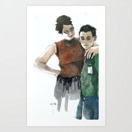 Boy Won't Be Boys Anymore Art Print