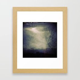 lomographic Sky 5 Framed Art Print