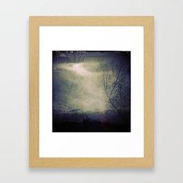 lomographic Sky 5 Framed Art Print