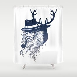 Hunter Shower Curtain
