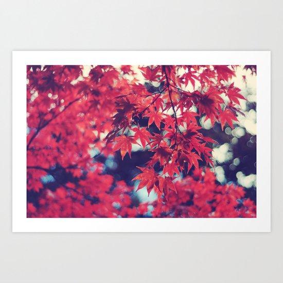 Still autumn in my heart Art Print