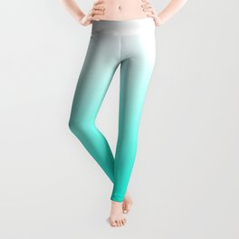 Mint Ombre Leggings