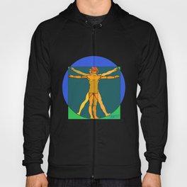 """Vitruvian Stained (""""Lumo"""" Vitruviano) Hoody"""