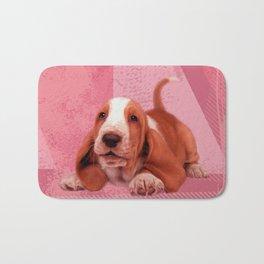 Basset Hound Puppy Bath Mat