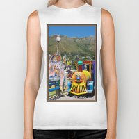 forever young Biker Tanks featuring Forever Young by CrismanArt