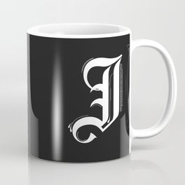 Letter J Coffee Mug
