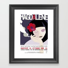 Magdalene Framed Art Print