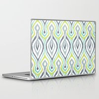 ikat Laptop & iPad Skins featuring Sketchy IKAT by Patty Sloniger