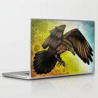 raven Laptop & iPad Skins featuring Raven by Alohalani
