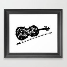 Treblemaker Framed Art Print