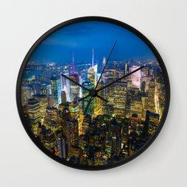 Manhattan - New York Wall Clock