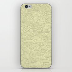 just waves natural iPhone & iPod Skin