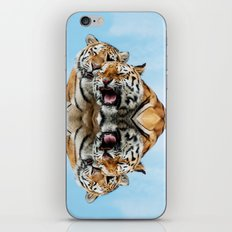 TIGERS - DOUBLE TROUBLE iPhone & iPod Skin