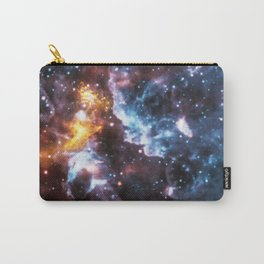 Cosmic Clouds Pareidolia Illusion Carry-All Pouch