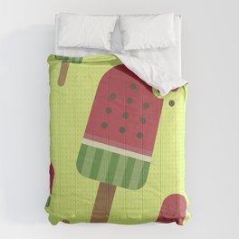 Watermelon Ice Pop Comforters