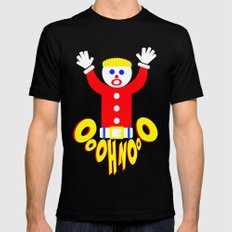 Oh No!  |  Mr. Bill  |  Saturday Night Live X-LARGE Mens Fitted Tee Black