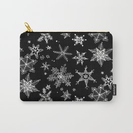 Snow Flakes 07 Carry-All Pouch