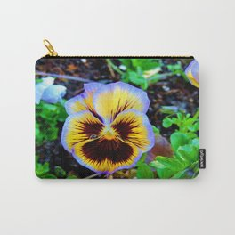 Pansy Tear Carry-All Pouch