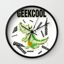 The Dinosaur Geek Cool ! Wall Clock