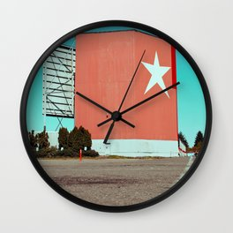 Drive-in relic Wall Clock