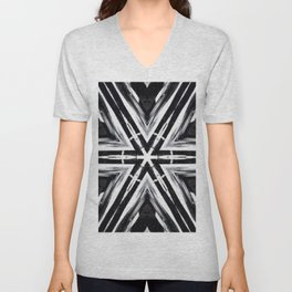TRIBAL PATTERN Unisex V-Neck