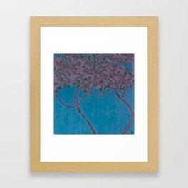 Wooden Landscape Pastel Framed Art Print