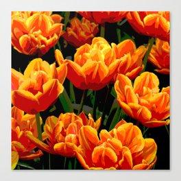 Orange tulips II Canvas Print
