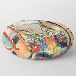 Henri Matisse The Open Window Floor Pillow