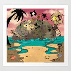 Turtle island. Art Print