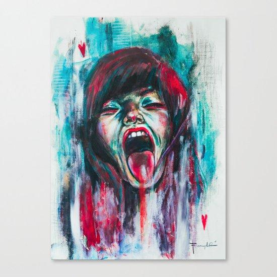 Compulsion Canvas Print