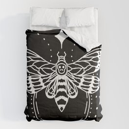 Deaths head moth with stars Comforters