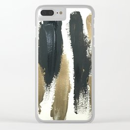 Obsessions in Black Clear iPhone Case