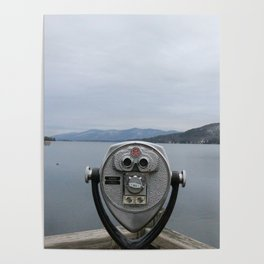 View Of Lake George NY Poster