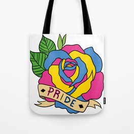 Pan Pride Rose Tote Bag