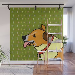 A cute dog called Toby Wall Mural