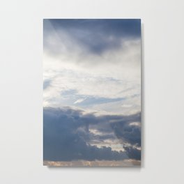 Sky 01/20/2014 17:13 Metal Print