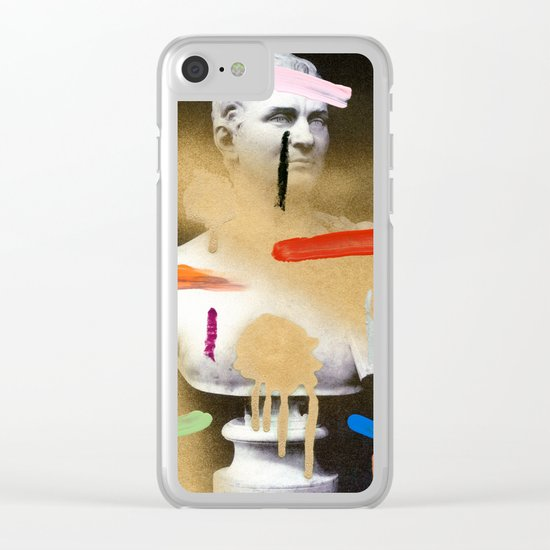 Composition 530 Clear iPhone Case