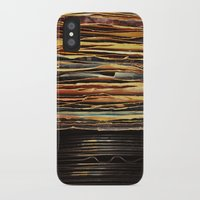 records iPhone & iPod Cases featuring Sunrise Records by Margaux Thibeault