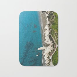 Breathtaking view over Governor's beach Bath Mat