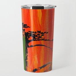 Tree on Fire Travel Mug