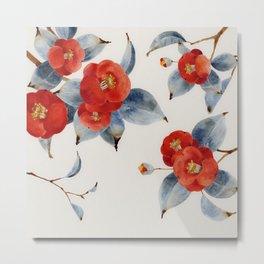 Chinese Painting | Camilla Metal Print