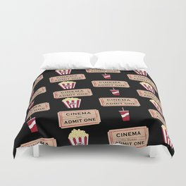 Let's Go to the Movie theatre Duvet Cover