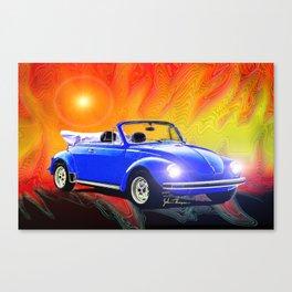 70 Super Bug convertible Canvas Print