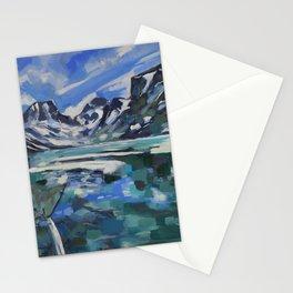 Rainbow Lake Stationery Cards