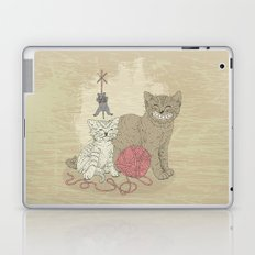 Naughty Cats Laptop & iPad Skin